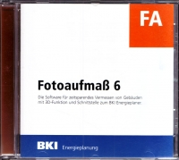 Fotoaufmaß 6 - Software